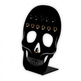 ACRYLIC SKULL STAND FOR SEPTUM 12PCS