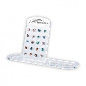 ACRYLIC DERMAL ATTACHMENTS STAND FOR 20PCS