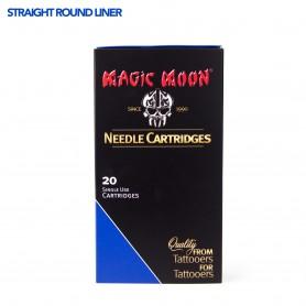MAGIC MOON CARTRIDGE 11SRL STRAIGHT LINER 20PCS