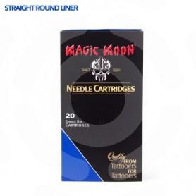 MAGIC MOON CARTRIDGE 20PCS 12RL STRAIGHT 0,35MM LONG TAPER