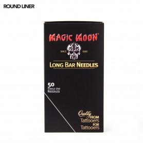 MAGIC MOON NEEDLES 07RL 50PCS