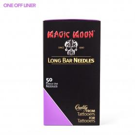 MAGIC MOON NEEDLES 50PCS 17RL ONE OFF LINER 0,35MM LONG TAPER
