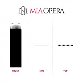 MIAOPERA DISPOSABLE MICROBLADING BLADES U18- 10PCS