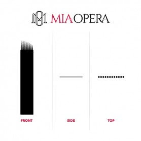 MIAOPERA DISPOSABLE MICROBLADING BLADES 10PCS C14
