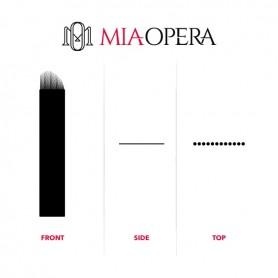 MIAOPERA DISPOSABLE MICROBLADING BLADES 10PCS - 0,18MM STROKES SV16