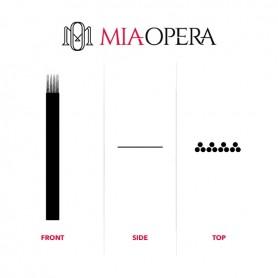 MIAOPERA DISPOSABLE MICROBLADING BLADES 10PCS - 0,30MM QUADRUPLE Q3 (4X3)