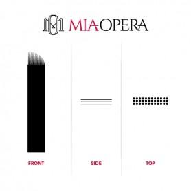 MIAOPERA DISPOSABLE MICROBLADING BLADES 10PCS - 0,30MM MICROSHADING C03X15