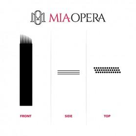 MIAOPERA DISPOSABLE MICROBLADING BLADES 10PCS - 0,30MM PIXEL P15