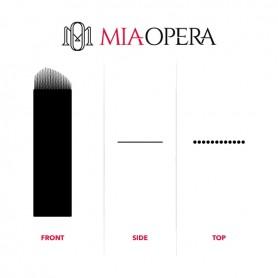 MIAOPERA DISPOSABLE MICROBLADING BLADES 10PCS - 0,30MM EYELINER EV21